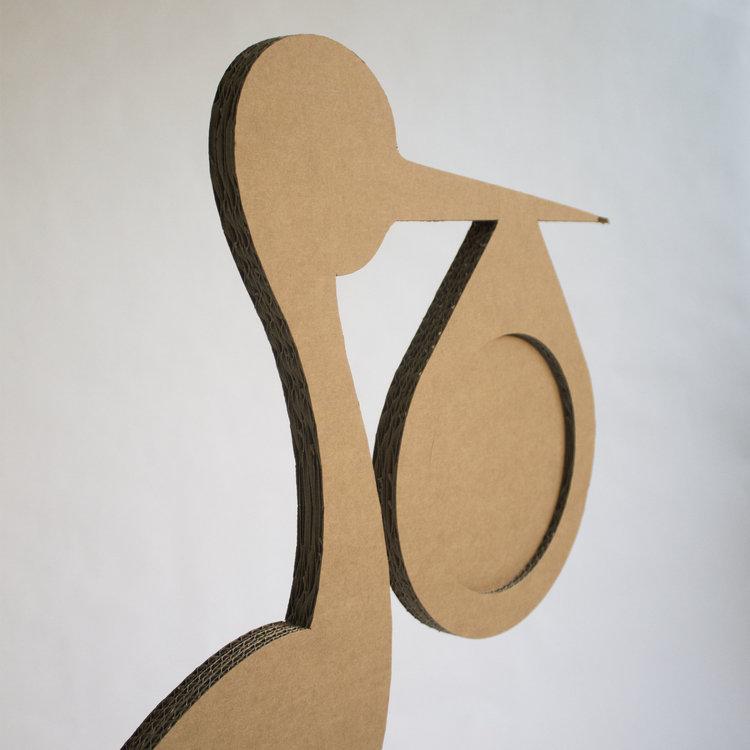 KarTent Cardboard Stork