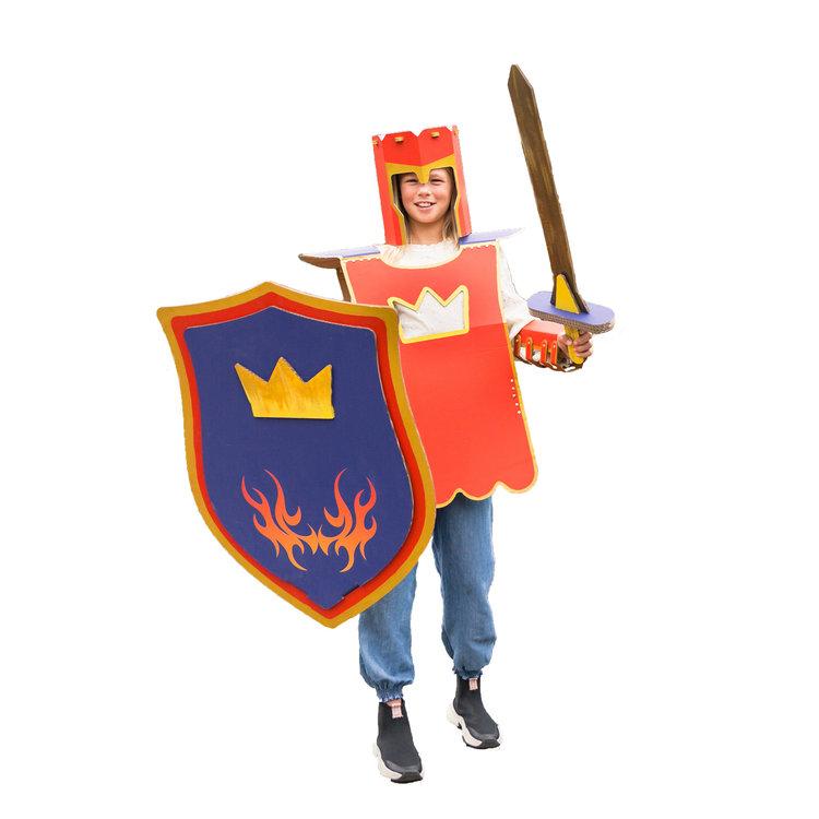 KarTent Cardboard Knight Suit