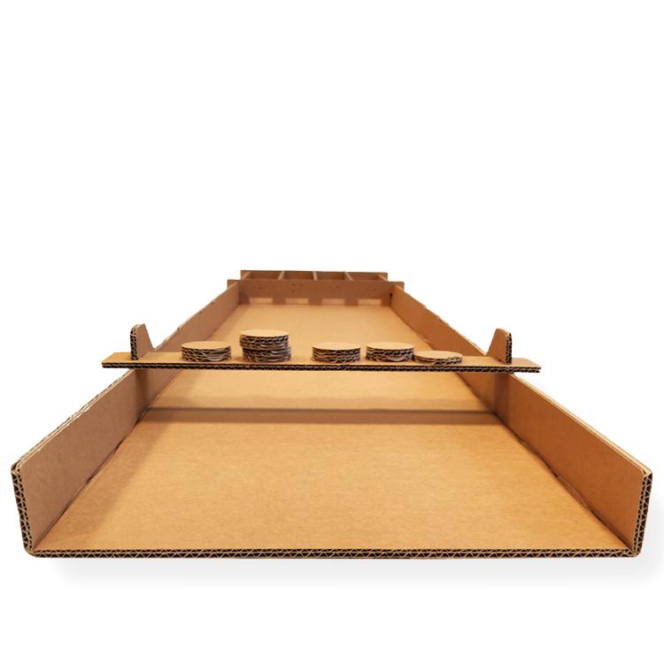 KarTent Cardboard Shuffleboard