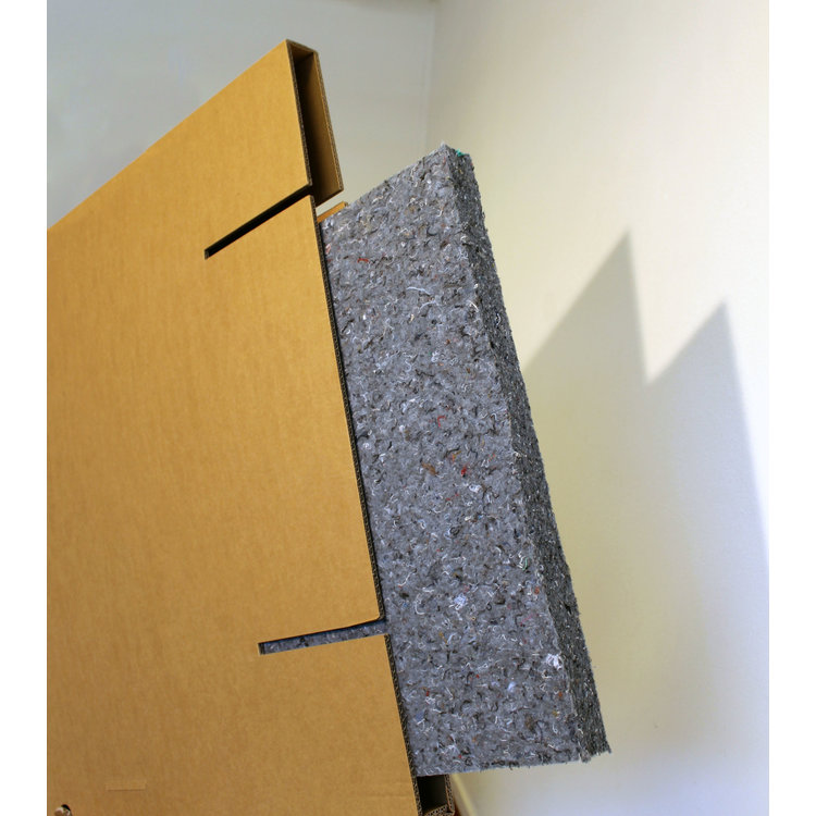 KarTent Cardboard Partition Wall