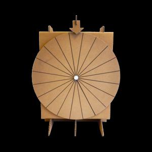 KarTent Cardboard Wheel of Fortune