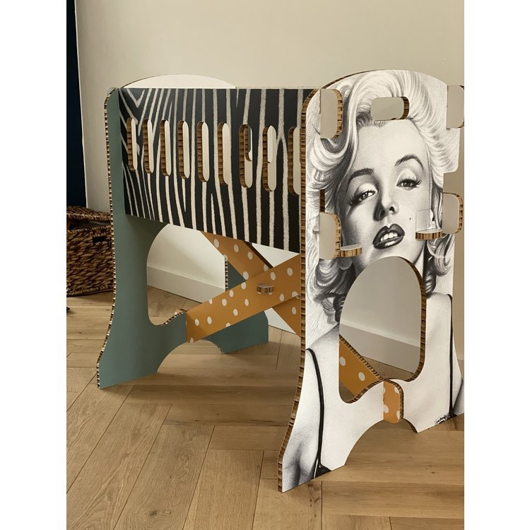 KarTent Baby Crib - Papercrib with Your Own Print