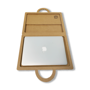 KarTent Kartonnen Laptop Zonnescherm Koffer