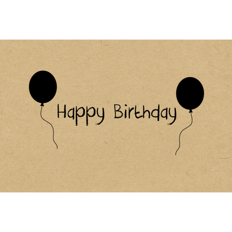 KarTent Birthday Card