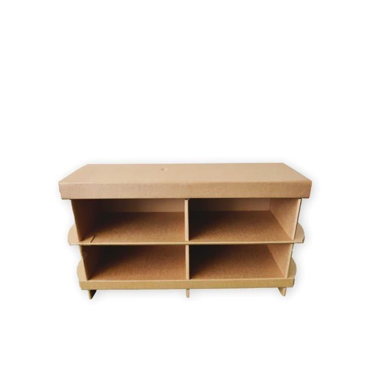 KarTent Cardboard TV Cabinet