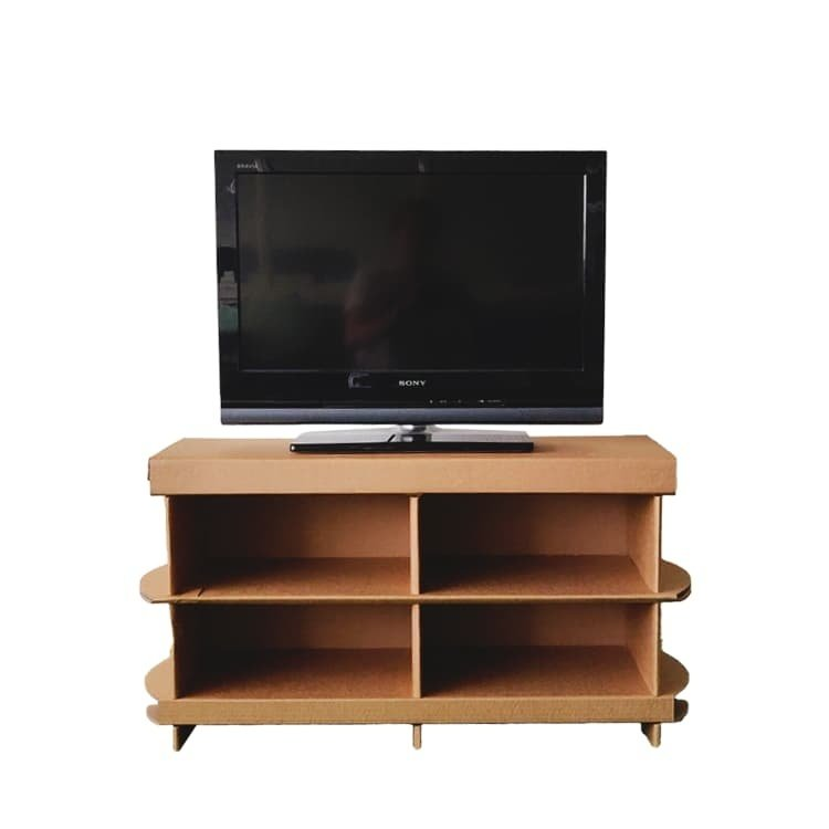 KarTent Kartonnen Tv-meubel