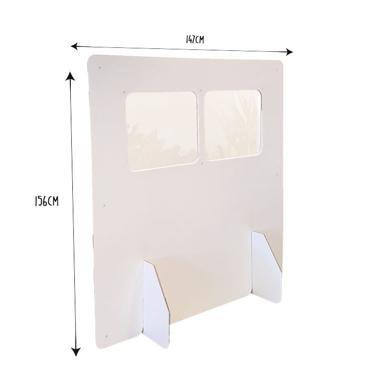 KarTent Cardboard Division Panel for Cafe, Restaurants and Office - Open High