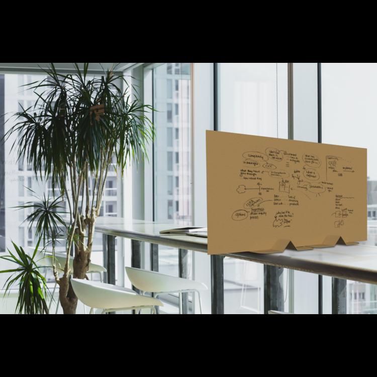 KarTent Cardboard Division Panel for Cafe, Restaurants and Office - Basic Low