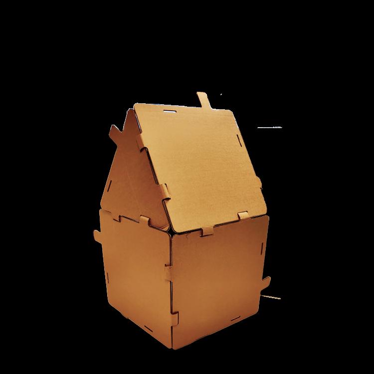KarTent Cardboard Puzzle Building Blocks