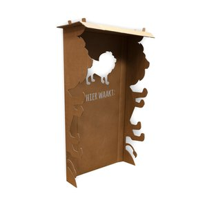 KarTent Lions Two Poster Bed