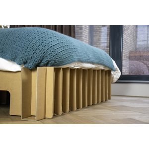 KarTent Cardboard Arch Bed with Optional Drawers