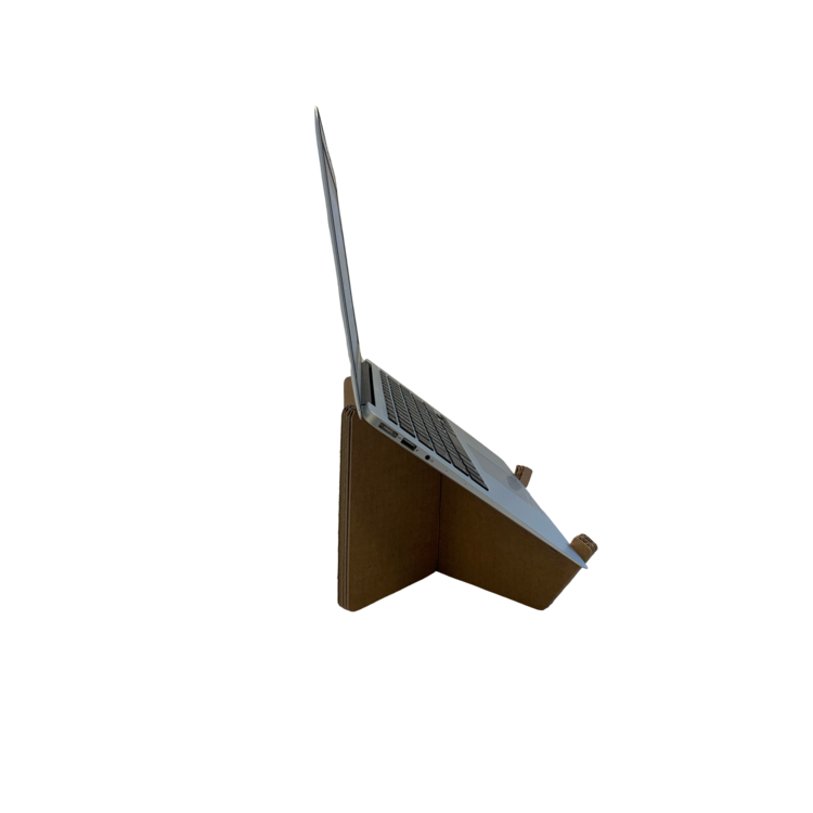 KarTent Cardboard Laptop Stand Cross