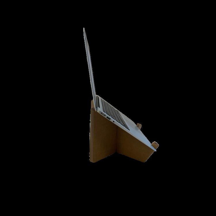 KarTent Kartonnen Laptop Standaard Kruis