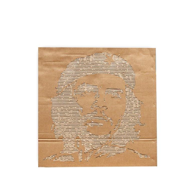 KarTent Cardboard DIY Portret in three sizes