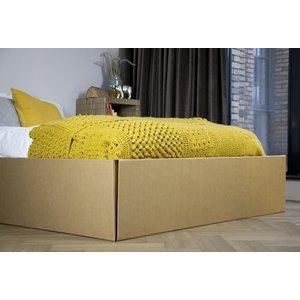 KarTent Cardboard Bed Frame with Sides