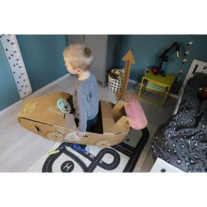 KarTent Cardboard Toy Car