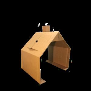 KarTent Cardboard Kids Bed House