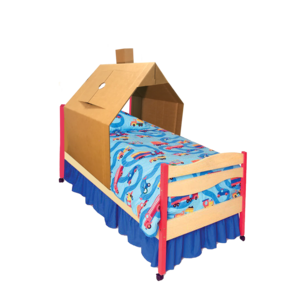 KarTent Kartonnen Kinderbed Huis