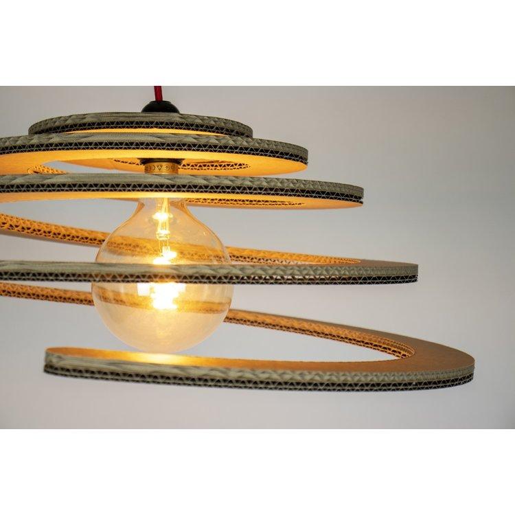KarTent Cardboard Wanroij Hanging Lamp