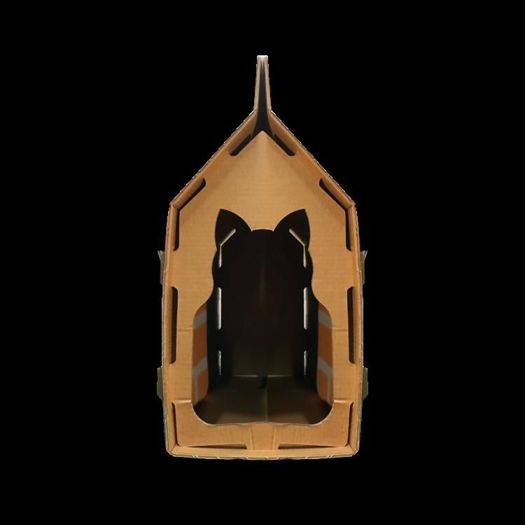 KarTent Kartonnen Katten Huis