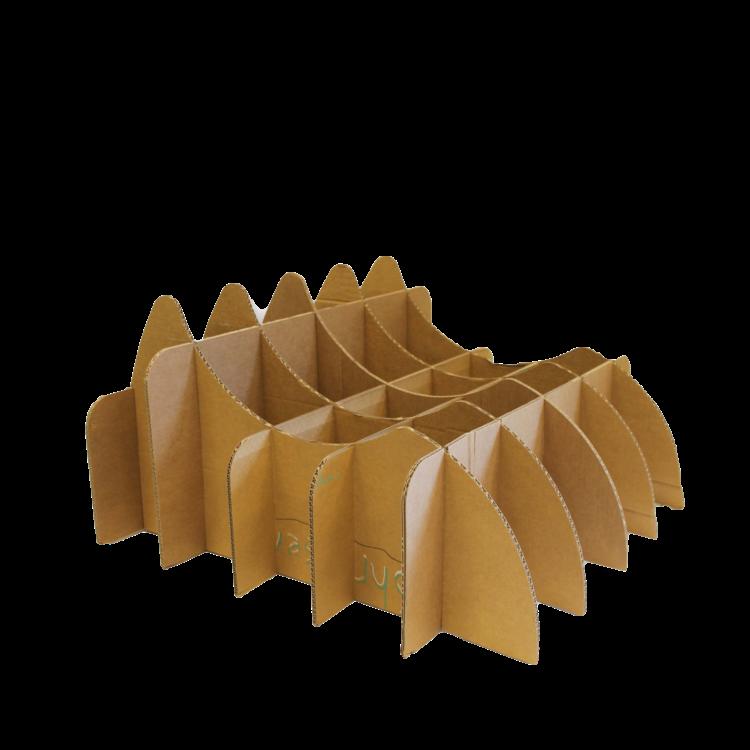 KarTent Cardboard Mold for a Grass Chair