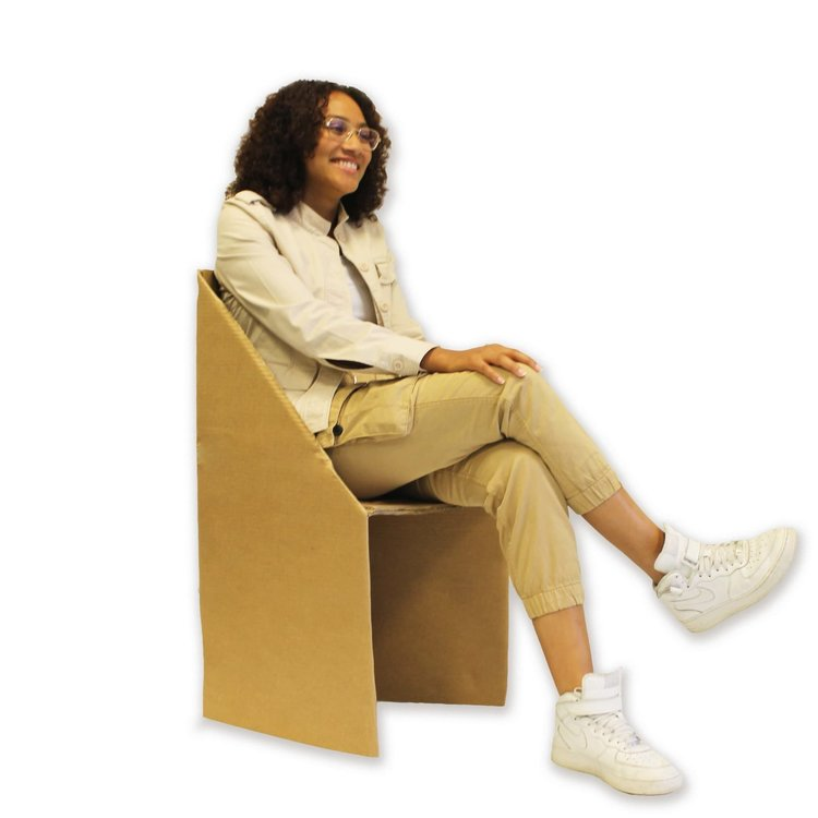 KarTent Cardboard Camping Chair