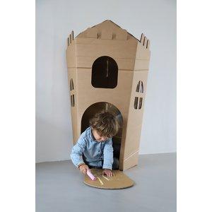 KarTent Big Cardboard Kids Castle