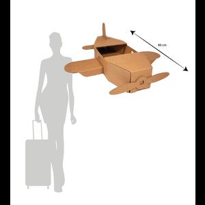 KarTent Groot Kartonnen Speelgoed Vliegtuig