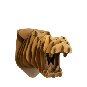 KarTent Cardboard Hippo Head