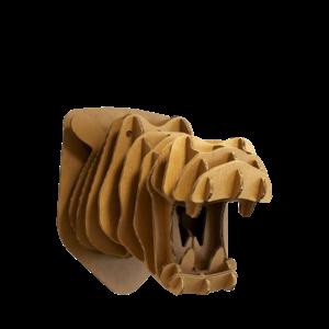 KarTent Kartonnen Nijlpaardhoofd