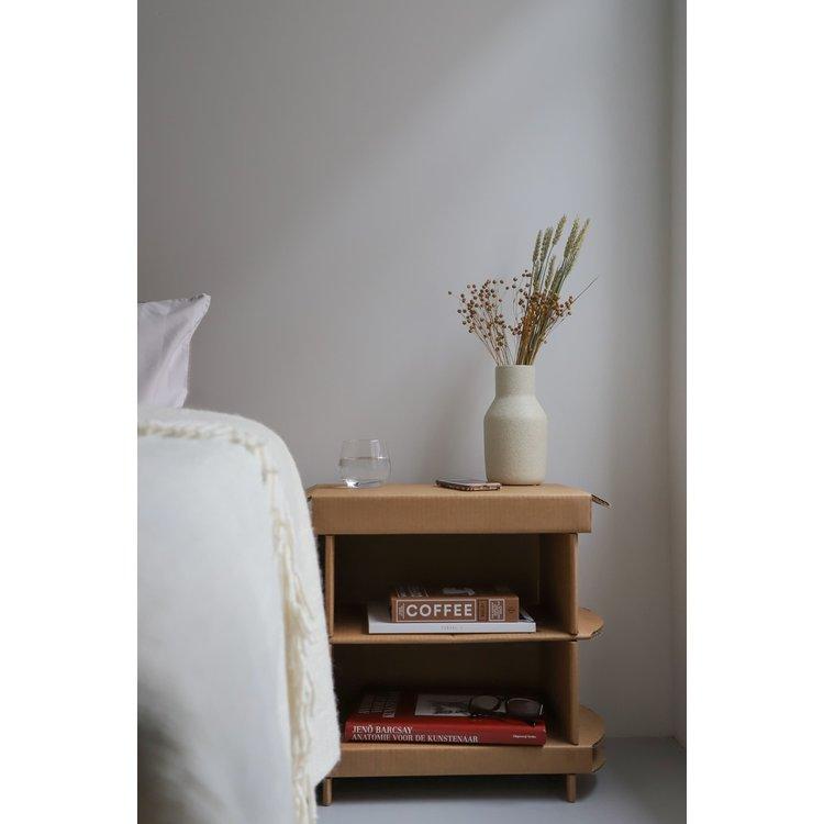KarTent Cardboard Bedside Table 45cm