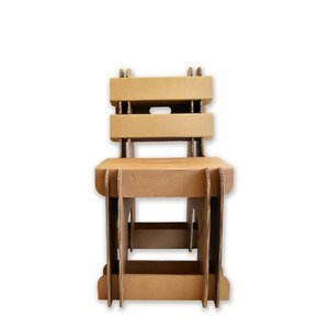 KarTent Cardboard Block Chair for kids and adults