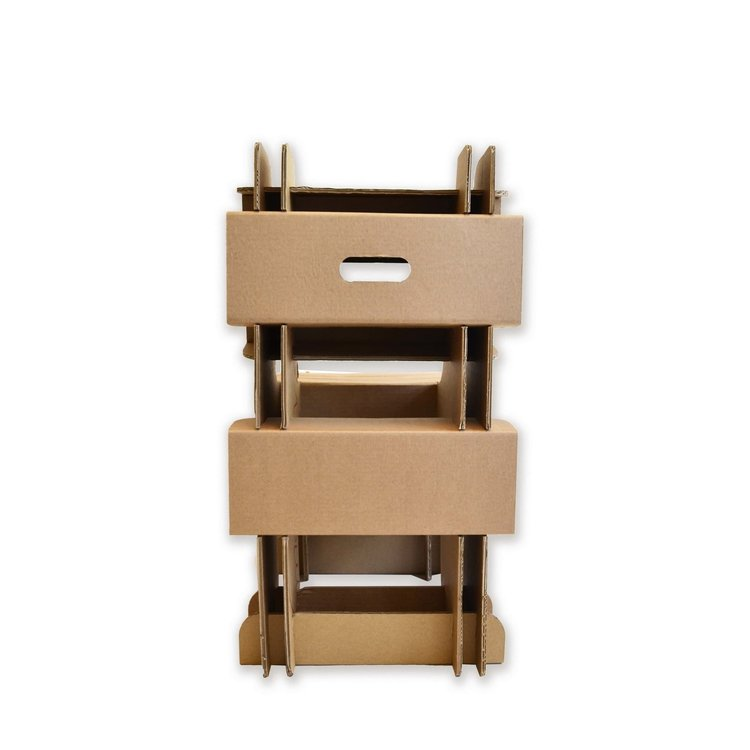 KarTent Cardboard Block Chair for adults