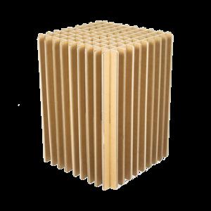 KarTent Sustainable Cardboard Cross Stool