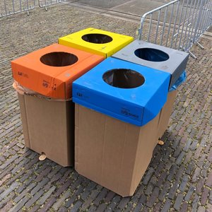 KarTent Cardboard 240L Waste Bin