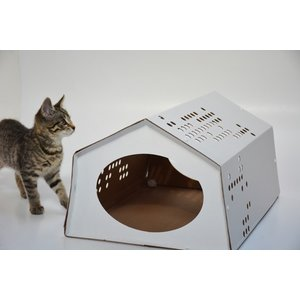 KarTent Cardboard CatTent - the Tent for Cats