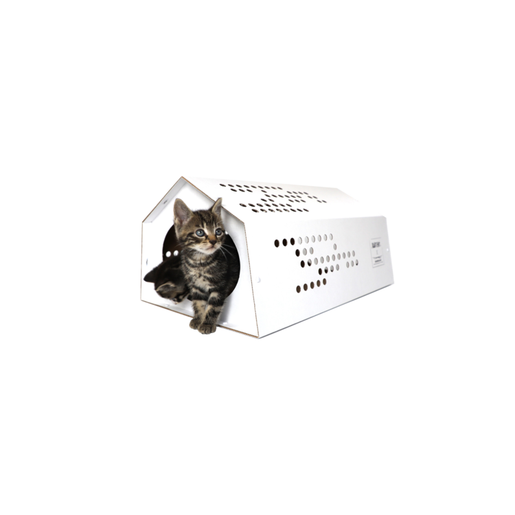 KarTent Kartonnen CatTent - de Tent voor Katten