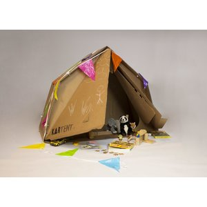KarTent Cardboard Tent for kids - the KarTent Junior