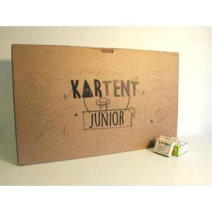 KarTent Kartonnen Tent voor kinderen - de KarTent Junior