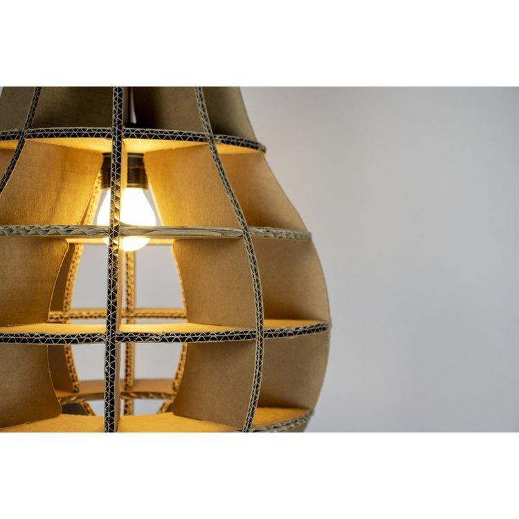 KarTent Kartonnen Villarobledo Lamp