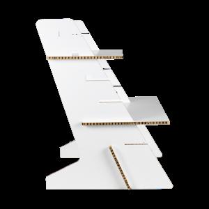 KarTent Home Workplace Standing Desk Converter White