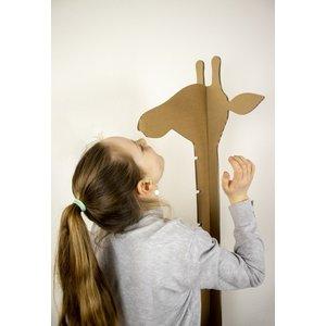 KarTent Kartonnen Giraffe Groeimeter