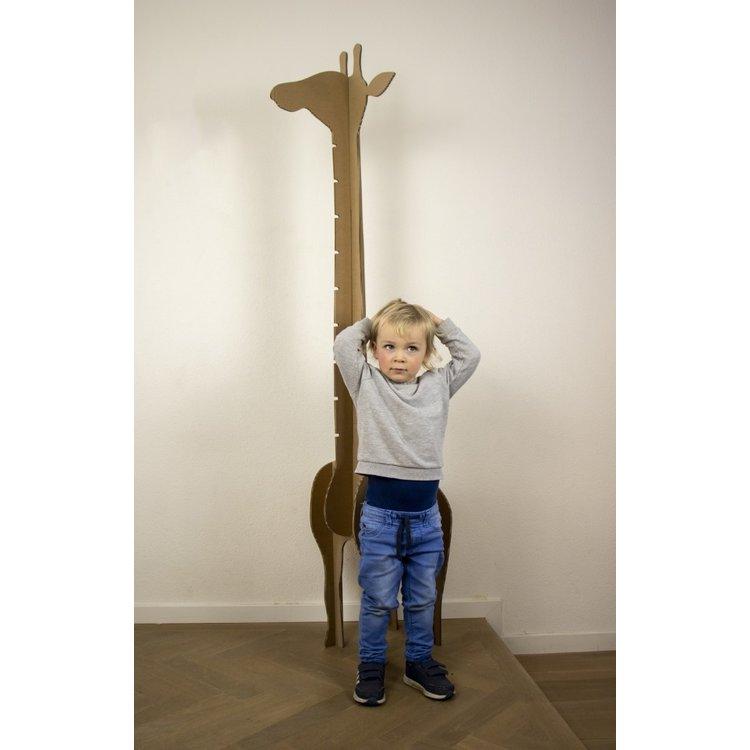 KarTent Cardboard Giraffe Growth Chart