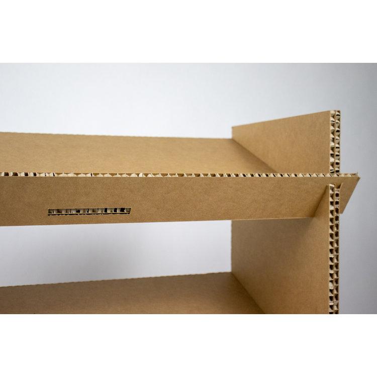 KarTent Cardboard Shoe Rack