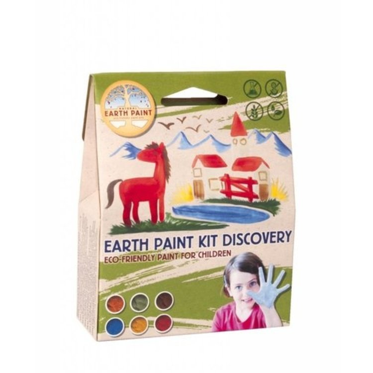 KarTent Natural Kids Paint Earth Kit Discovery