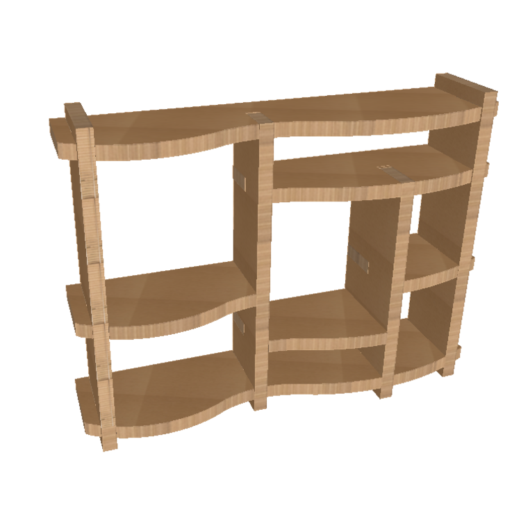 KarTent Arizona | Honeycomb Open Compartment Closet