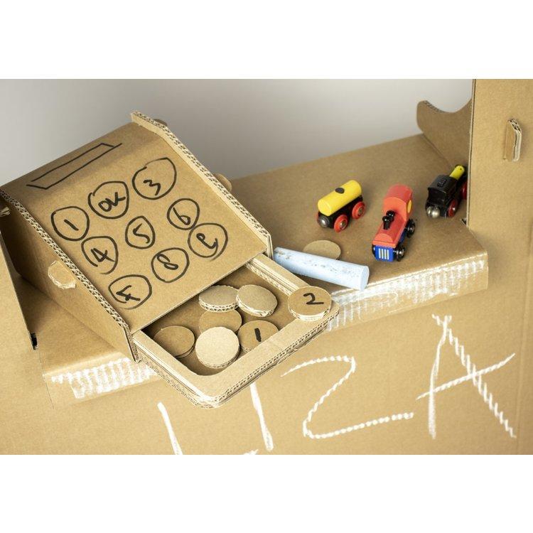 KarTent Kartonnen Speelgoed Winkeltje