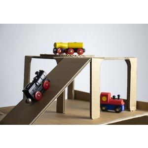 KarTent Kartonnen Speelgoed Garage