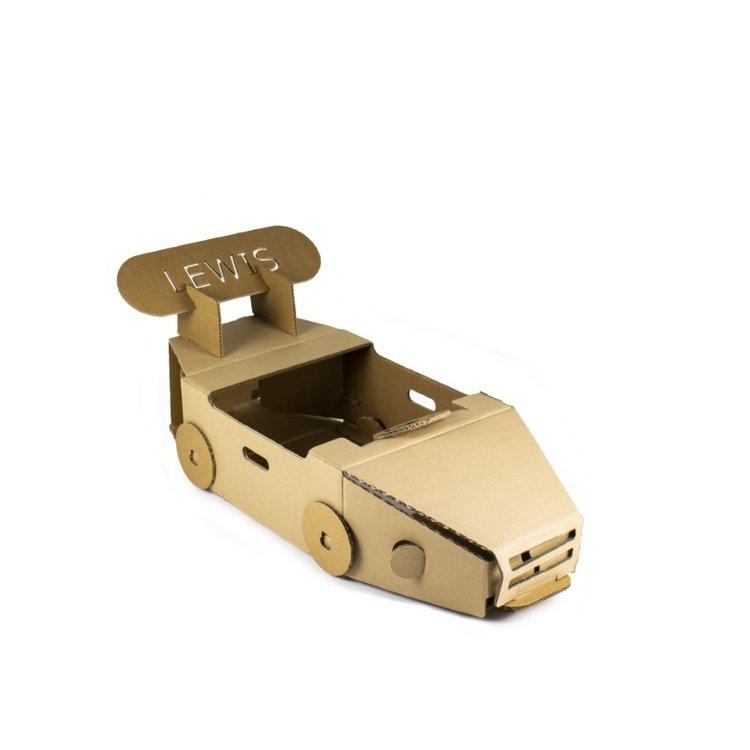 KarTent Kartonnen Speelauto
