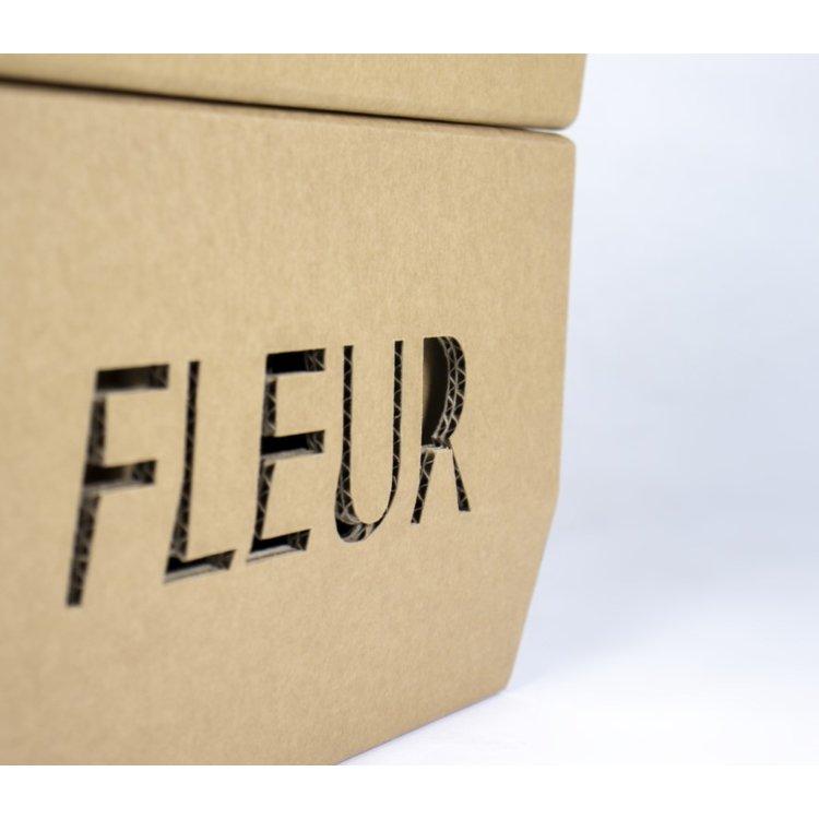 KarTent Duurzame Kartonnen Blok Kruk
